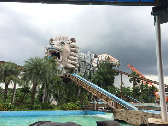 be careful :)) - Picture of Siam Park City, Bangkok ...