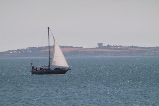 White Harbour: Yacht, Co. Down coast.