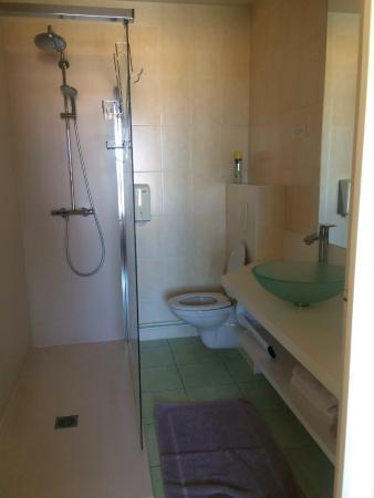 Hotel au Poisson d'Argent: Shower room Poisson d'Argent