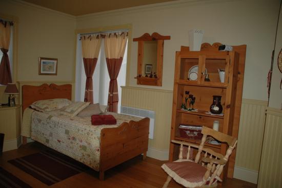 Champlain, Kanada: chambre a 2 lits simples