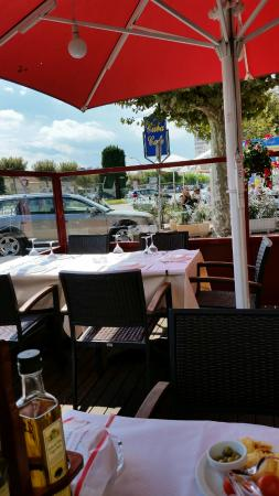 Restaurante El Churrasco: Vue depuis la terrasse