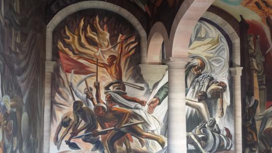 Foto de alh ndiga de granaditas guanajuato murales for Murales para fotografia