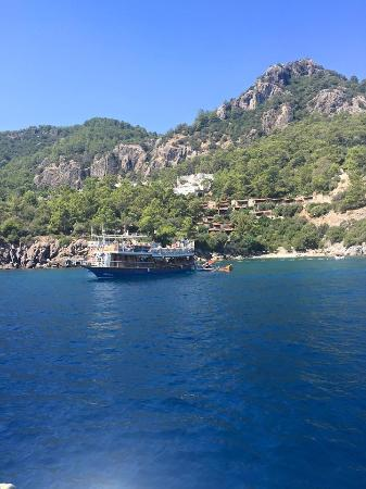 Beautiful clear water - Picture of Mega Diana Boat Trip-Tours, Marmaris - Tri...