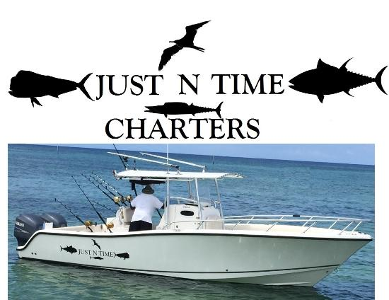 Just 'n' Time Charters: 1st Class Boat with 1st Class Captain