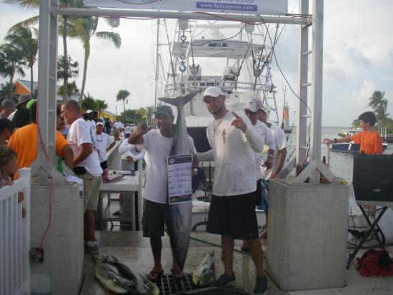 North Side, Grand Cayman: Prize Winning Wahoo