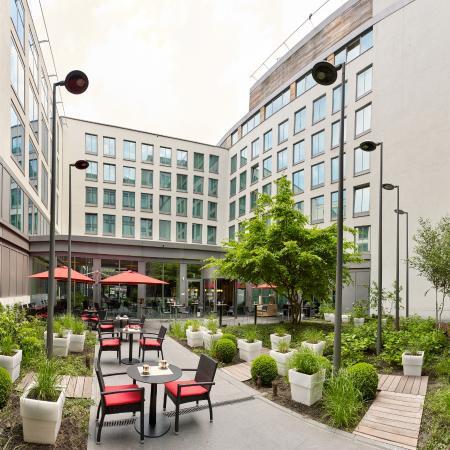 Entrance of Park Inn by Radisson Brussels Midi