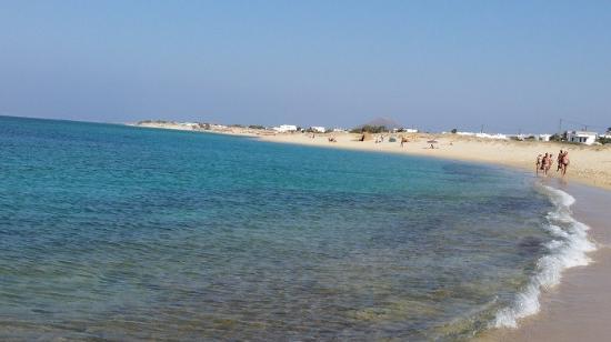 Aegean Land: Mare e spiaggia zona Plaza