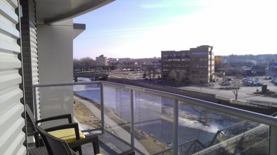 Superb Hilton Garden Inn Sioux Falls Downtown: Presidential Suite   Balcony View Nice Design