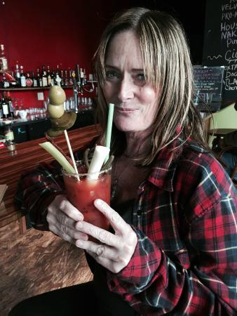 Hood River, OR: Bloody Mary Bar every Sunday
