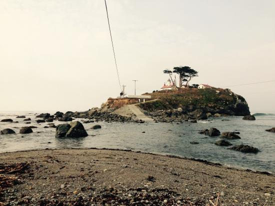 Oceanfront Lodge: Battery Point lighthouse