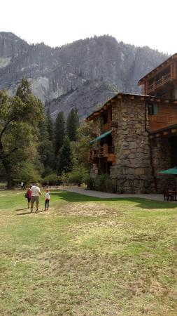 Picture of yosemite valley lodge yosemite national park for Yosemite valley cabins
