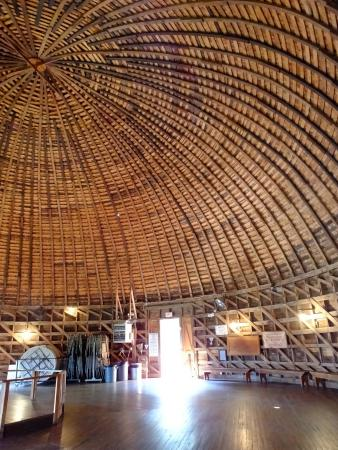 Interior View Of The Roof Structure Picture Of The Old