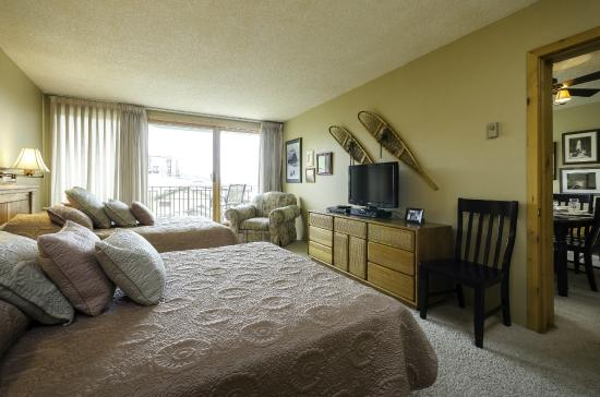 Bronze Tree Condominiums: Sample Bedroom
