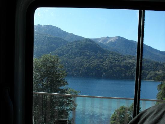Hosteria Pajaro Azul: Vista desde el desayunador