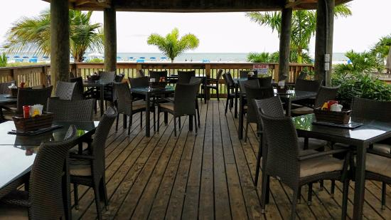 Deck Area Picture Of Jimmy B S Beach Bar St Pete Tripadvisor