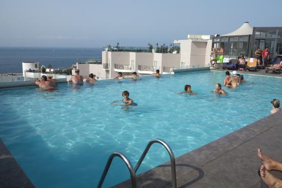 Rooftop Pool Picture Of Db San Antonio Hotel Spa Qawra