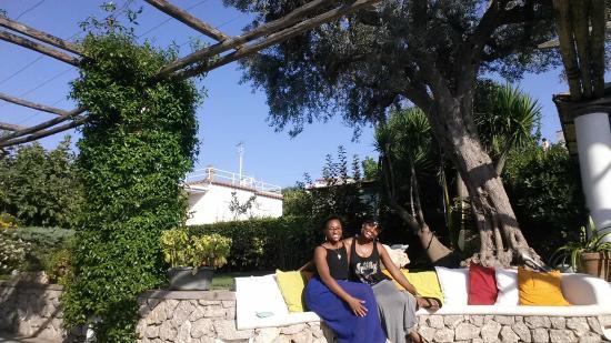 Al Mulino: Bench in front garden