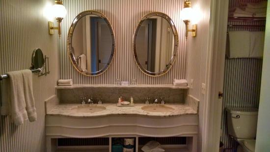 Vanity Outside Bathroom bathroom - picture of disney's yacht club resort, orlando