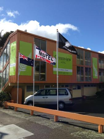 Green View Hotels: Beautiful flags