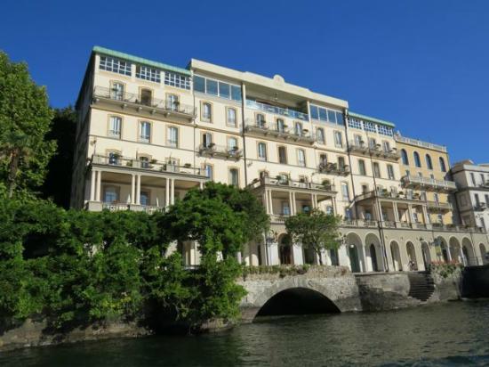 Grand Hotel Cadenabbia From Lake Como Picture Of Grand Hotel