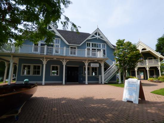Gananoque, Canadá: Thousand islands Boat Museum