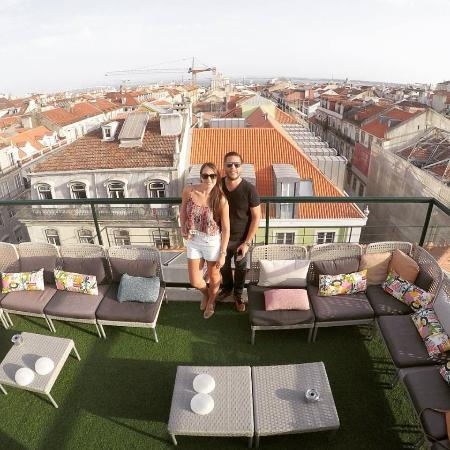 View From The Lisbon Short Stay Apartments Terrace Picture Of Lisbon Art Stay Apartments Baixa Lisbon Tripadvisor