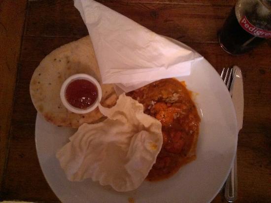 Half Moon Inn: Chicken curry