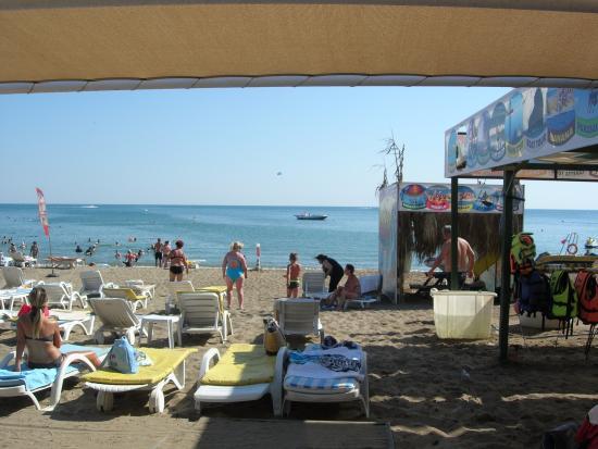 Belkon Club Hotel: Пляж
