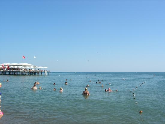 Belkon Club Hotel: Море