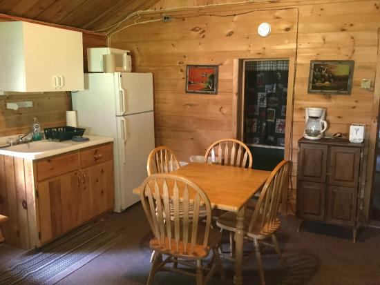 The Forks, ME: Kitchen/Dining Area