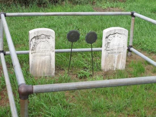 MN Soldier's Gravesite at Killdeer Battlefield