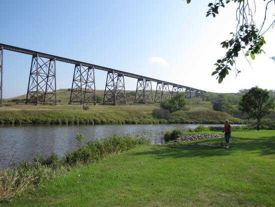 Valley City, ND: Sheyenne River & Hi Line Railroad Bridge