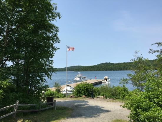 Parque Nacional Isle Royale, MI: Boating dock