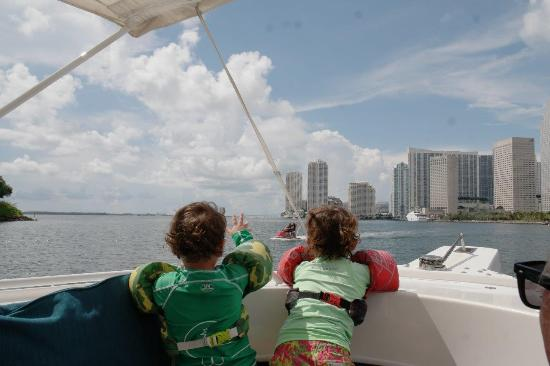 Be Offshore! Charters: Children of all ages enjoy a safe and entertaining custom boat tour of Miami