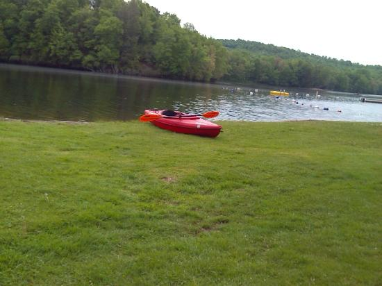 Waymart, PA: Kayaking