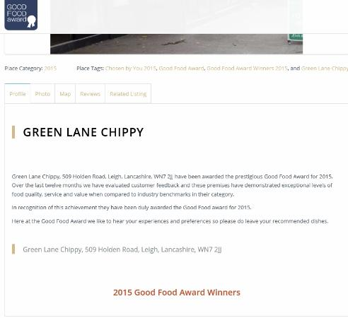 Green Lane Fish and Chip Restaurant: Green Lane Chippy: