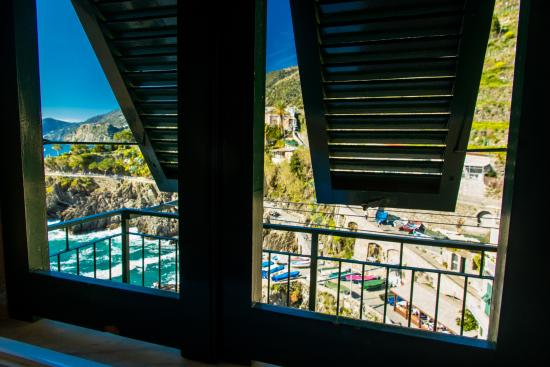 Luxury Apartments Manarola: View from the room