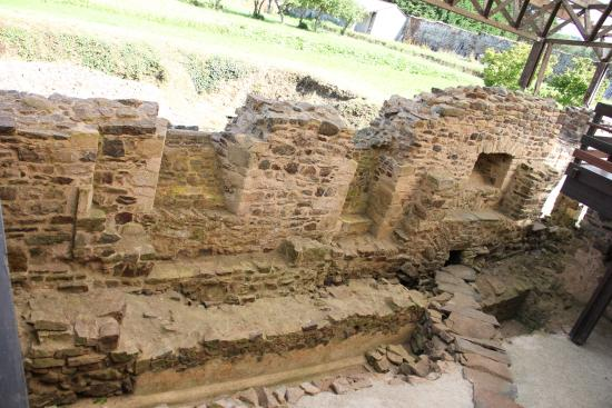Ancienne Abbaye de Landevennec : ruins