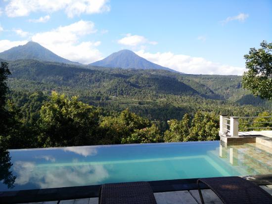 Puri Alam Bali Bungalows: vue de nos chambres