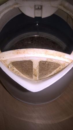 Toddington, UK: Kettle seasoning possibly