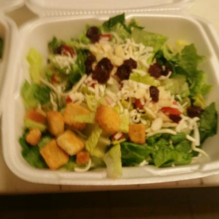 Scottville, MI : Awesome salad