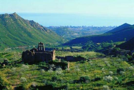 Benicasim, Spanje: Parque Natural del Desierto de las Palmas