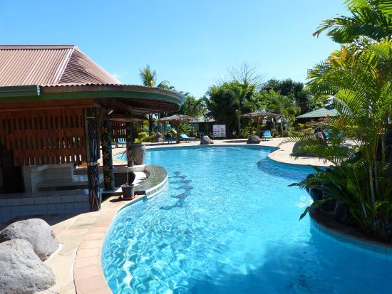 Amoa Resort: Swim up Bar or have a seats