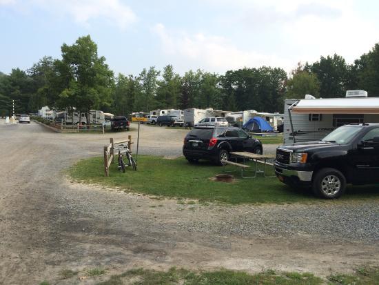 Watkins Glen-Corning KOA Camping Resort: More trailer sites