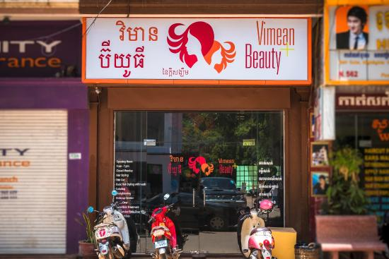 Vimean Beauty Salon Our From The Outside In Central Siem Reap