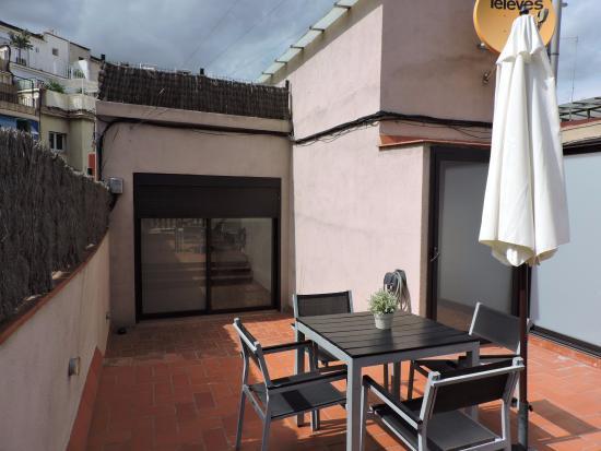 Eric Vökel Sagrada Familia Suites: terrasse