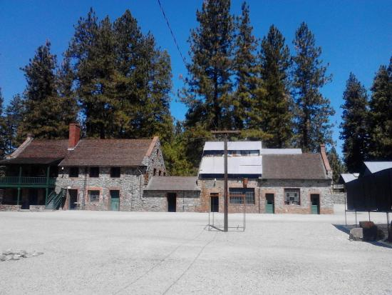 Grass Valley, CA: Empire Mine buildings