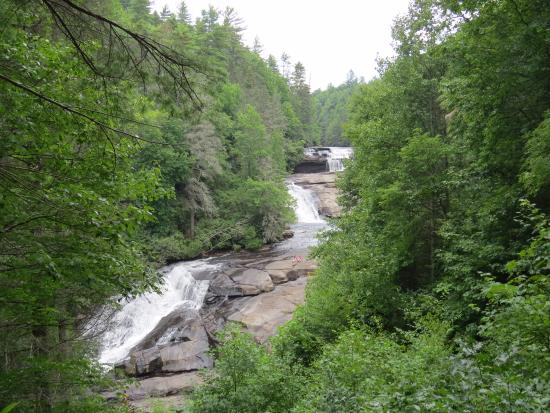 Cedar Mountain, Carolina del Nord: Triple Falls