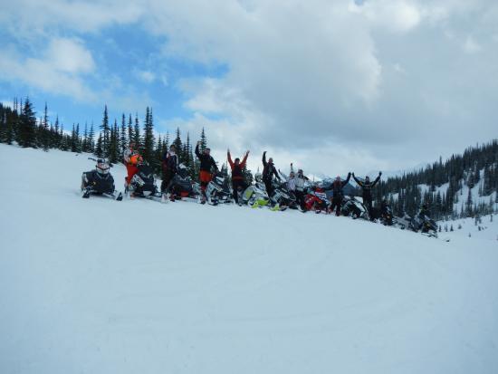 Snow Peak Rentals : This years group