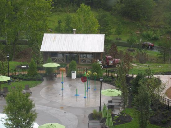 View Of Pool From Room Picture Of Dollywood S Dreammore